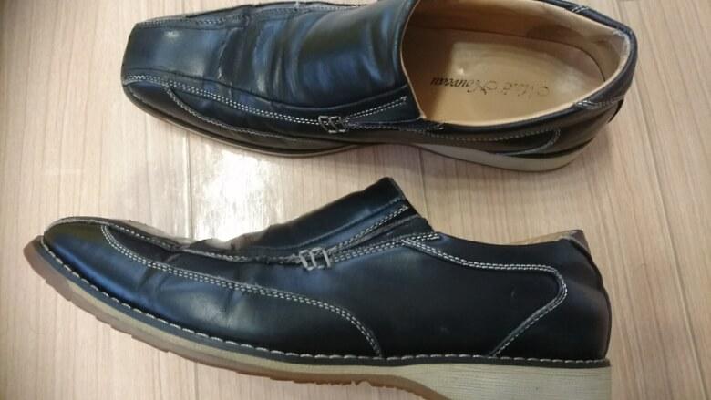 クリーニング後の靴