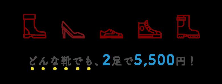美靴パックでクリーニングを依頼できる靴の種類
