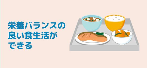 宅配の冷凍弁当なら栄養バランスが良い
