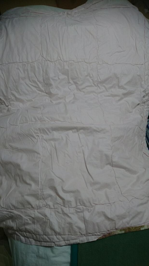 クリーニング前の布団