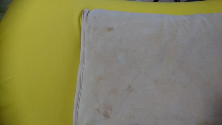 使い古した枕