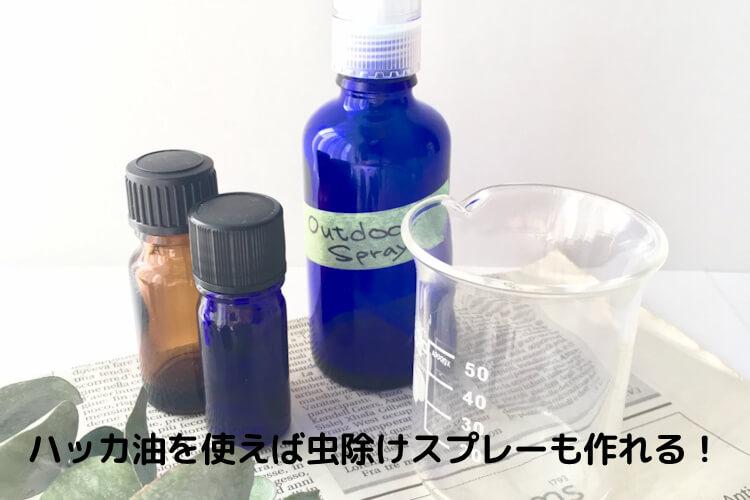 手作りの化粧水や虫除け