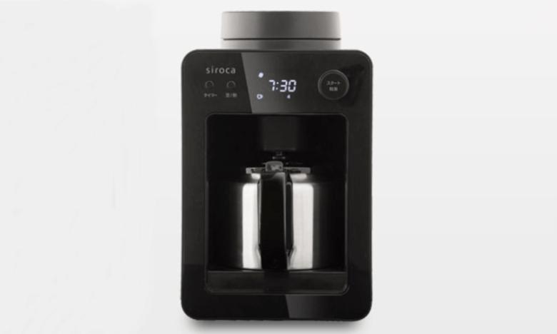 siroca 全自動コーヒーメーカー カフェばこ SC-A371