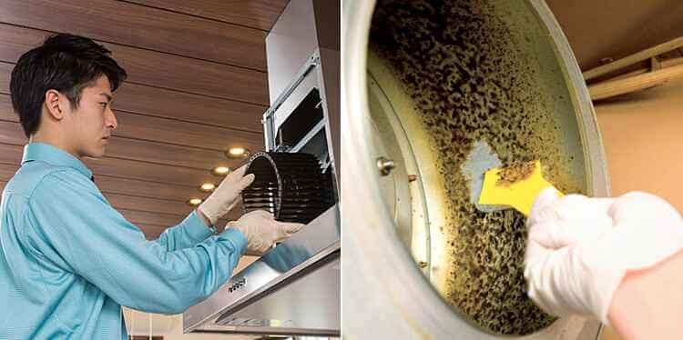 シロッコファンの掃除は業者に任せるのが安心!