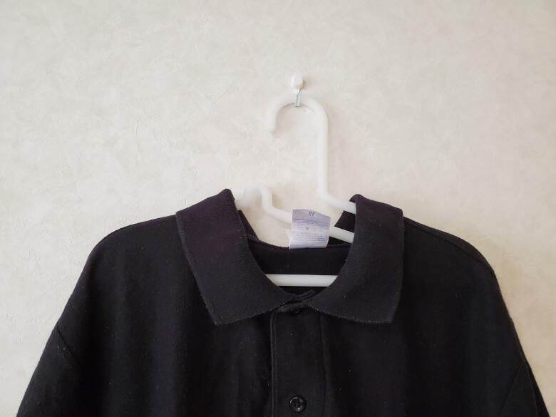 使用例_ポリプロピレン洗濯用ハンガーシャツ用