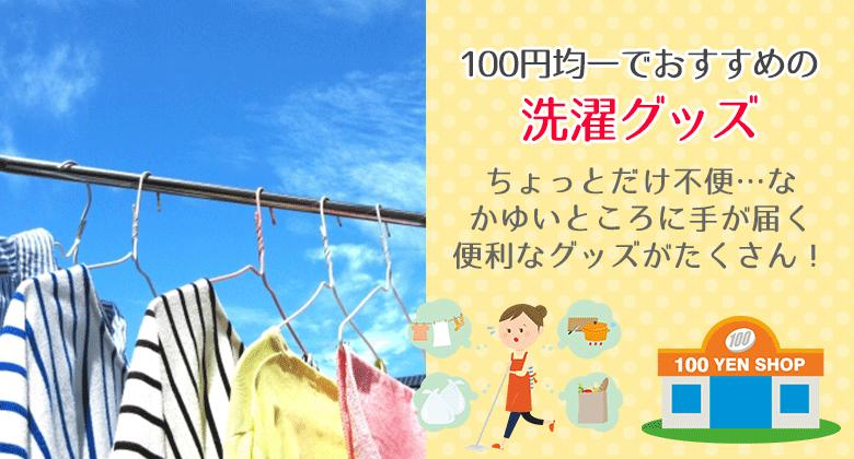 100円均一でおすすめの洗濯グッズ