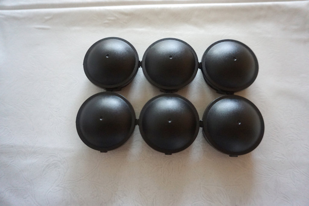 ブラックキャップ:6個