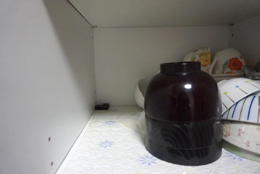ブラックキャップ スキマ用:食器棚