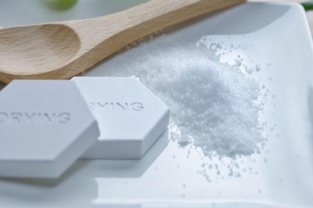 珪藻土と塩
